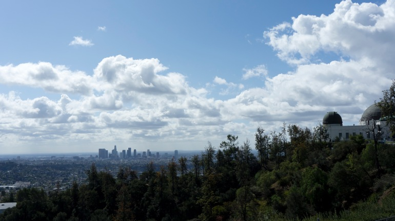 Downtown LA and the Griffith Observatory
